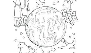 Free Creation Colouring Pages Raovat24hinfo