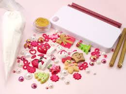all in one diy decoden kit inc case clay cabs sprinkles sauce