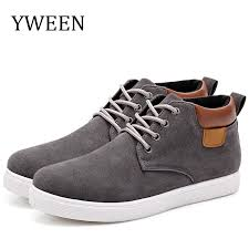<b>YWEEN Men's Casual Shoes</b> Cotton Spring Autumn Lace up Shoes ...