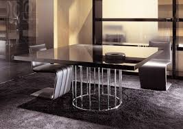 licious contemporary dining table set circle
