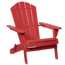 adirondack wood folding chair in chili the home astonica folding wood adirondack chair with ottoman