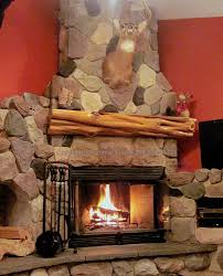furniture wood mantel ideas reclaimed images rustic fireplace design natural burning stove corner likable interior