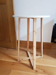 white laquer furniture. Simple White HABITAT Drew Bamboo And White Lacquer Tall Side Table On White Laquer Furniture