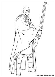 Small Picture Master Windu Star Wars Coloring Pages Master Downlload Coloring