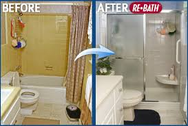 Small Picture Small Bathroom Renovations Before And After Home Design Ideas