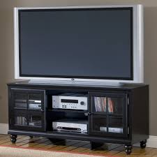 black tv console annabelle black  inch tv console living spaces
