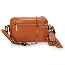 Coach Legacy Flight Medium Brown Crossbody Bags AFY
