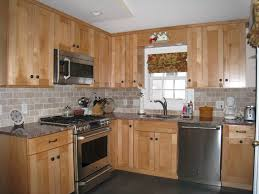 kitchen color ideas with light oak cabinets. 63 Most Fine Kitchen Cabinet Color Ideas Backsplash Pictures Designs Tile Genius With Light Oak Cabinets 1