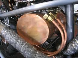 copper oil bag