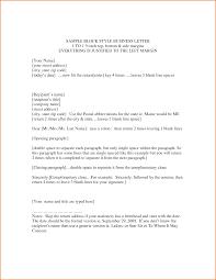 Block Form Business Letter Block Format Business Letter Example Formal Business Letter