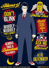 Doctor Who Quotes Amazing Tenth Doctor Quotes From Once Upon A Tee Day Of The Shirt
