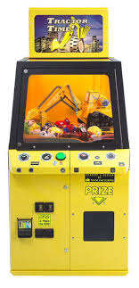 Game Vending Machine Stunning Tractor Time Crane Claw Vending Machine