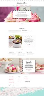 bakery templates templatemonster bakery responsive website template