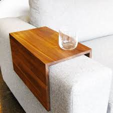 wooden furniture ideas. modren furniture a stylish and practical drink rest for your couch crafted from reclaimed  wood in wooden furniture ideas