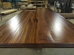 a hand hewn surface for your wooden countertop
