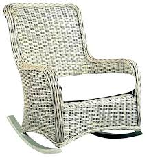 black wicker rocking chair resin outdoor modern chairs