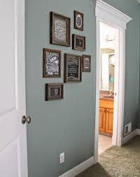 paint color valspar blue arrow dark rustic frames hobby lobby for upstairs hallway