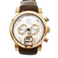 buy aigner bari gold mens watch wt brown leather strap shop aigner bari gold mens watch wt brown leather
