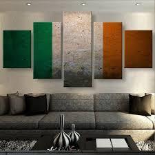 3zt wall art 5 panels canvas prints irish pride canvas painting home decor custom canvas poster on 5 canvas wall art custom with 3zt wall art 5 panels canvas prints irish pride canvas painting home