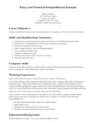 Financial Planning Assistant Sample Resume Awesome Finance Resume Objective For Internship Statement Examples Duties