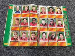 Merlin Premier League Sticker Album/Book 1996 85% Complete – Historic  Football Shirts