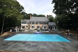 bluestone pavers pool paving