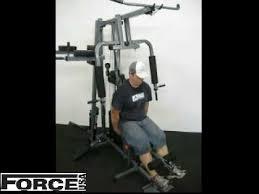 force usa 1360 home gym exercises