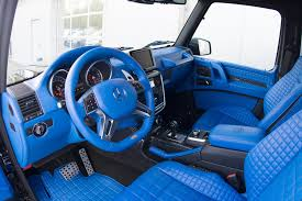 In other words, have at it with the interior of the g500. Brabus G500 4x4 Has A Blue Leather Interior That S Nifty Autoevolution