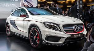 Mercedes gla 45 amg 381ch 4matic speedshift dct amg euro6d t. New Mercedes Benz Gla 45 Amg Brings High Performance To Compact Suvs Carscoops