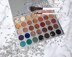 morphe x jaclyn hill 35 eyeshadow palette review