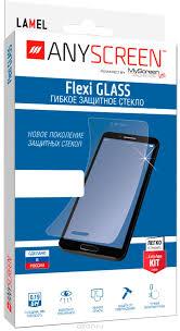 AnyScreen Flexi Glass <b>защитное стекло универсальное</b> для ...