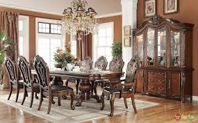 Emejing Solid Wood Formal Dining Room Sets Images  Home Design Solid Wood Formal Dining Room Sets