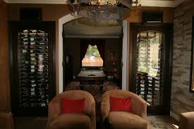 convert small spaces into a magnificent wine collection display