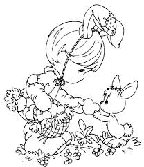 Coloring Pages Egg Easter Disney Characters Free Printable