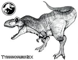 t rex coloring page coloring book