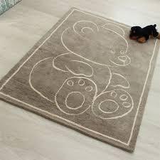 teddy bear rugs beige