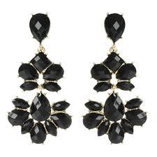 alexis bittar imperial crystal lace chandelier clip earring in chandelier black white chandelier