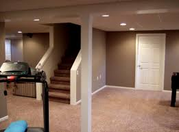 Basement Small Finished Ideas With Grey And Bright SurriPuinet