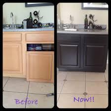 Furniture: Elegant Bathroom Cabinet Using Java Gel Stain For Home ...