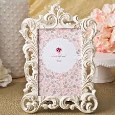 baroque style table number frames