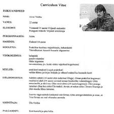 curriulum vita letter from internet curriculum vitae personal information name