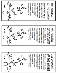 The Parable Of The Sower Bookmark