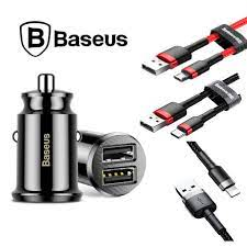 Baseus Mini Dual USB 3.1A Çakmaklık Hızlı Araç Şarj Cihazı Fiyatları ve  Özellikleri