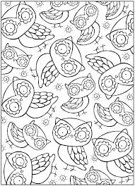 Cute Owl Coloring Page Printable Owl Coloring Pages S Free Printable