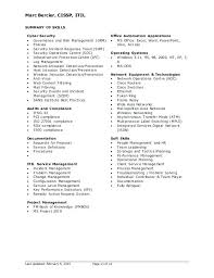 Computer Security Resume Security Resume Samples Security Resume