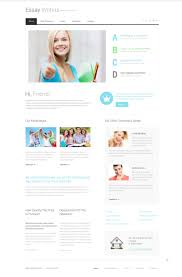 website template essay writers custom website template  website design template 49073 feather ink books experience inspiration creative ideas biography information vocation presentation >>
