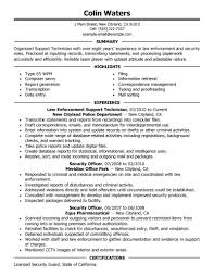 Beautiful Ffa Officer Resume Examples Contemporary Example