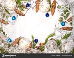 Weihnachtskarte Mit Christbaumschmuck Weihnachtskugeln