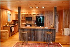 Reused Kitchen Cabinets Reclaimed Barn Wood Kitchen Cabinets Cliff Kitchen