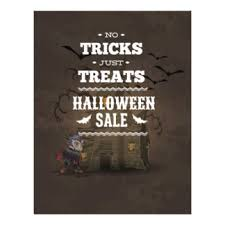 halloween sale flyer halloween haunted house flyers programs zazzle